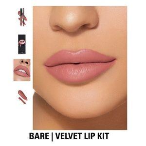 Kylie Cosmetics Makeup - Kylie Jenner Velvet Lip Kit - Bare